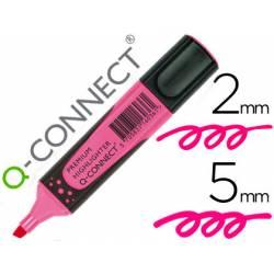 Rotulador Q-connect rosa