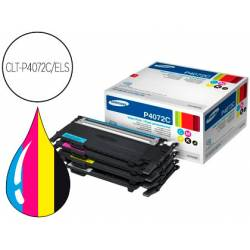 Toner Samsung kit CMYK CLP-320 CLP-325 CLX-3180 CLX-3185 negro magenta cian amarillo