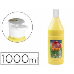 Tempera liquida JOVI color amarillo 1000 cc
