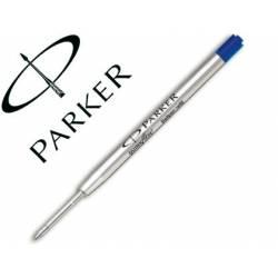 Recambio boligrafo Parker azul medio