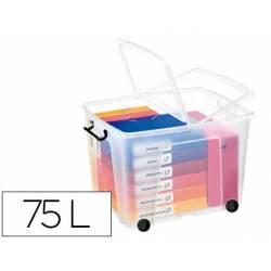 Contenedor plastico marca Cep 75 litros