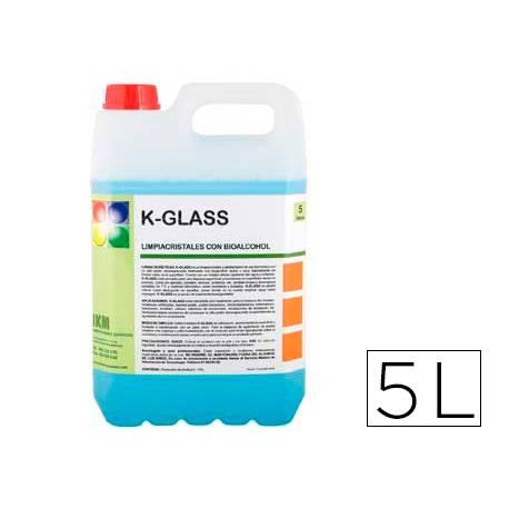 Limpiacristales garrafa de 5 L IKM