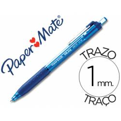 Bolígrafo Paper Mate Inkjoy 300 RT azul 1 mm