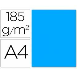 Cartulina Guarro din A4 azul maldivas 185 gr paquete 50 hojas