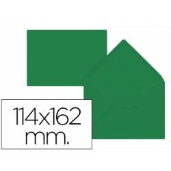Sobre marca Liderpapel C6 Verde acebo