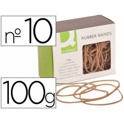 Gomillas elasticas Q-connect 100 gr N 10