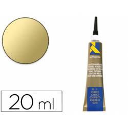 Pasta relieve La Pajarita 20 ml color oro