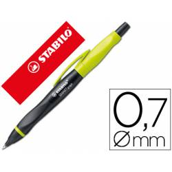 Portaminas Stabilo smartgraph 0.7 mm Cuerpo Pistacho y Negro