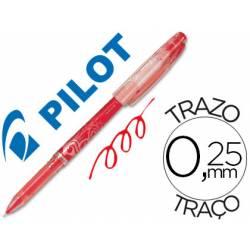 Boligrafo Borrable Pilot Frixion 0,25 mm Punta de aguja Color Rojo