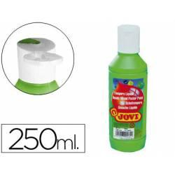 Tempera liquida Jovi color verde 250 cc