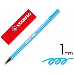 Rotulador Stabilo 68/57 Color Azul Celeste 1 mm