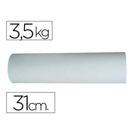 Bobina papel marca Impresma 31 cm 3,5 kg blanco