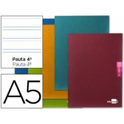 Libreta escolar marca Liderpapel Scriptus pauta 3.5 mm tamaño DIN A5