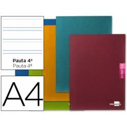 Libreta escolar marca Liderpapel Scriptus pauta 3.5 mm tamaño DIN A4