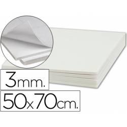 Carton pluma Liderpapel adhesivo 50 x 70 cm Espesor 3 mm