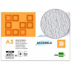 Papel acuarela marca Liderpapel Din A3