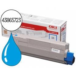 Toner OKI cyan -6000pag- type c11 (43865723) C5850 C5950 MC560