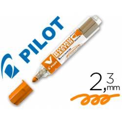 Rotulador Pilot Vboard Master color naranja