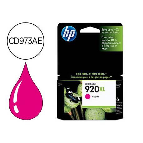 Cartucho HP 920XL color Magenta CD973AE