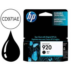 Cartucho HP 920 color Negro CD971AE
