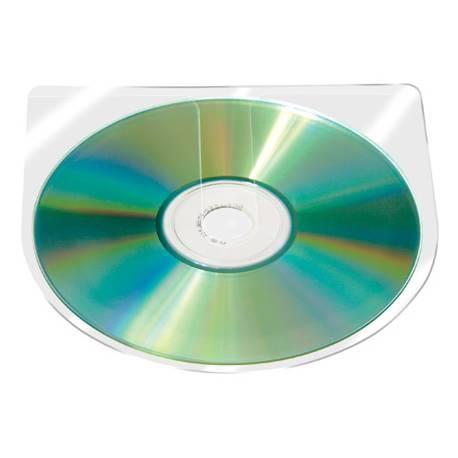 Funda autoadhesiva para CD marca Q-Connect
