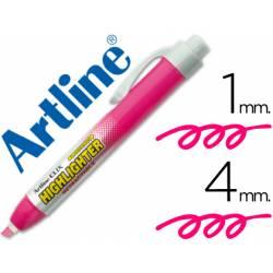 Rotulador Artline clix color rosa fluorescente 4mm