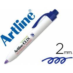 Rotulador Artline Clix color azul 2mm