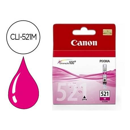 Cartucho Canon 2935B001 Nº CLI-521M Magenta