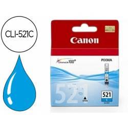 Cartucho Canon 2934B001 Nº CLI-521C Cian