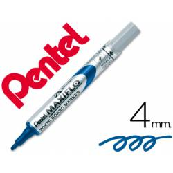 Rotulador Maxiflo Pentel azul