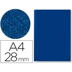 Tapa de Encuadernación Cartón Leitz DIN A4 Azul 280 hojas
