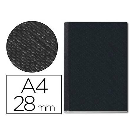 Tapa de Encuadernación Cartón Leitz DIN A4 Negra 280 hojas