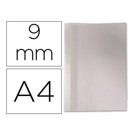 Carpeta termica GBC Pvc y cartulina color blanco 9 mm pack 100 unidades