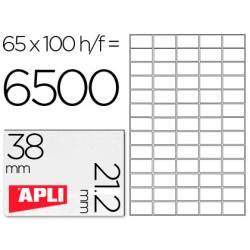 Etiquetas Adhesivas marca Apli 38 x 21,2 mm