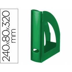 Revistero Liderpapel verde opaco