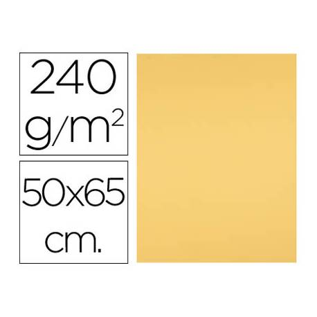 Cartulina Liderpapel color oro 240 g/m2