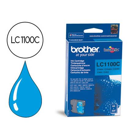 Cartucho Brother LC-1100C Cian