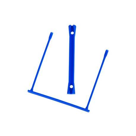 Fastener encuadernador Q-Connect de plastico azul