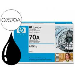 Toner HP 70A Q7570A color Negro