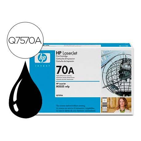 Toner HP 70A Q7570A color Negro