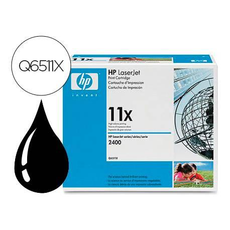 Toner HP 11X Q6511X color Negro
