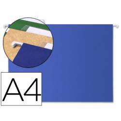 Carpeta colgante marca Liderpapel A4 Kraft Azul