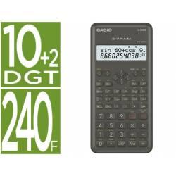 Calculadora Casio fx-82 ms Cientifica 240 funciones Doble pantalla