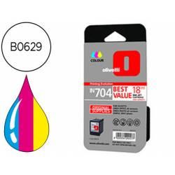 Cartucho Olivetti B0629 Nº IN704 Tricolor