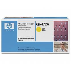 Toner HP 502A Q6472A color Amarillo