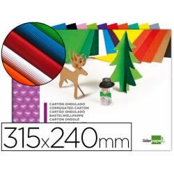 Bloc carton ondulado marca Liderpapel