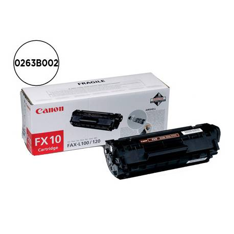 Tóner Canon 0263B002 Negro