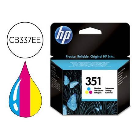 Cartucho marca HP 351 Tricolor CB337EE