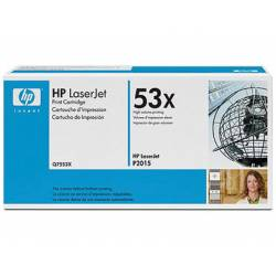 Toner HP 53X Q7553X color Negro
