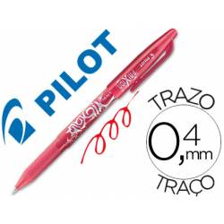 Boligrafo Borrable roller Pilot Frixion 0,4 mm Color Rojo